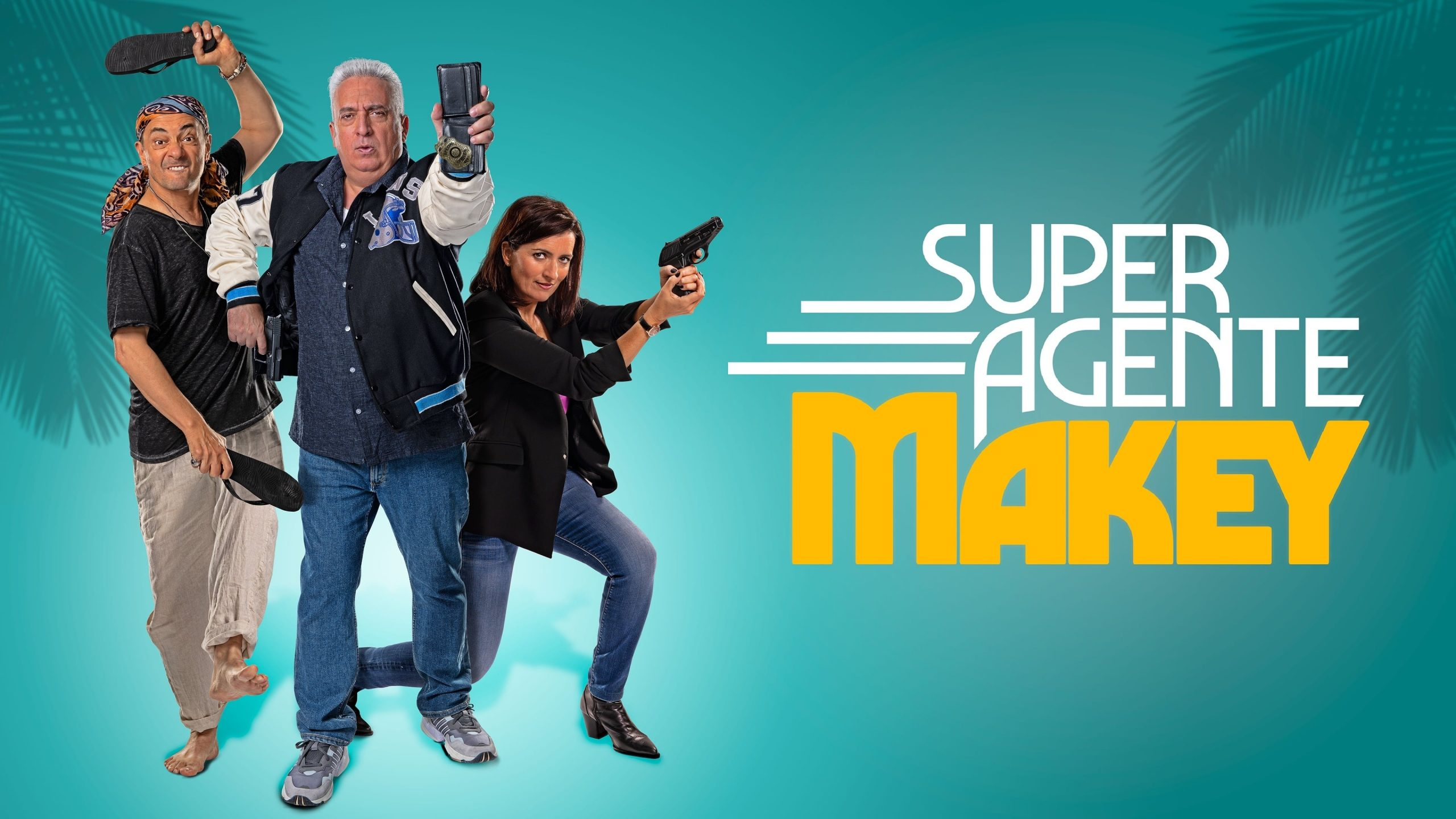 Cartel de la película Superagente Makey