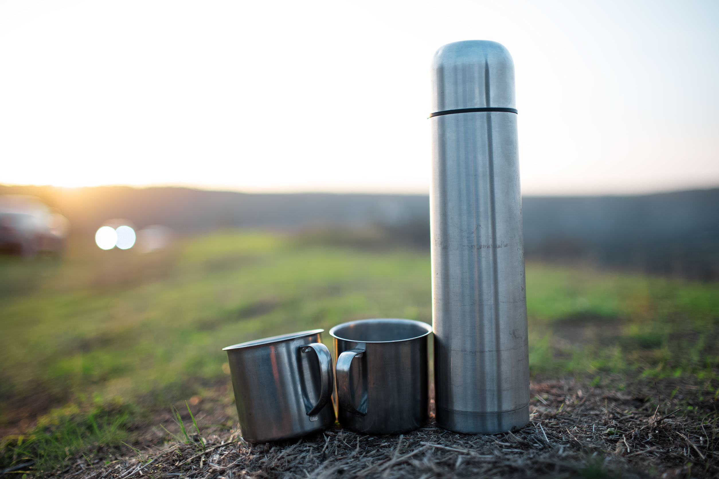 botellas de metal para agua helada