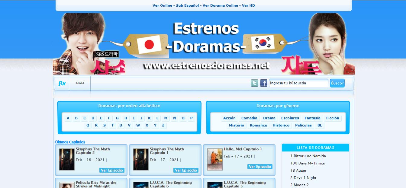 Plataforma en línea Estrenos Doramas
