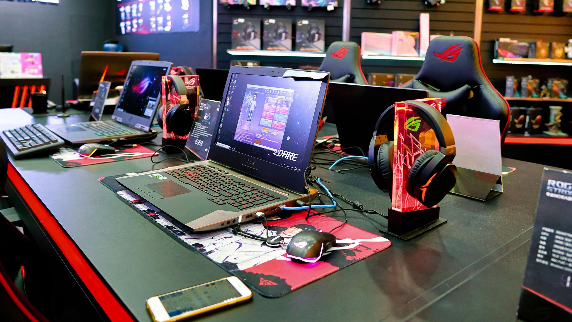 computadora de asus en tienda