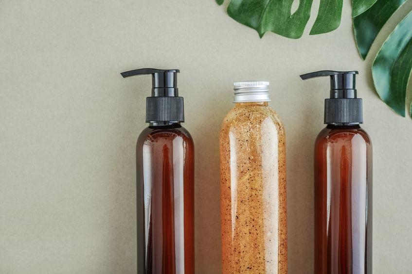 botes de shampoo
