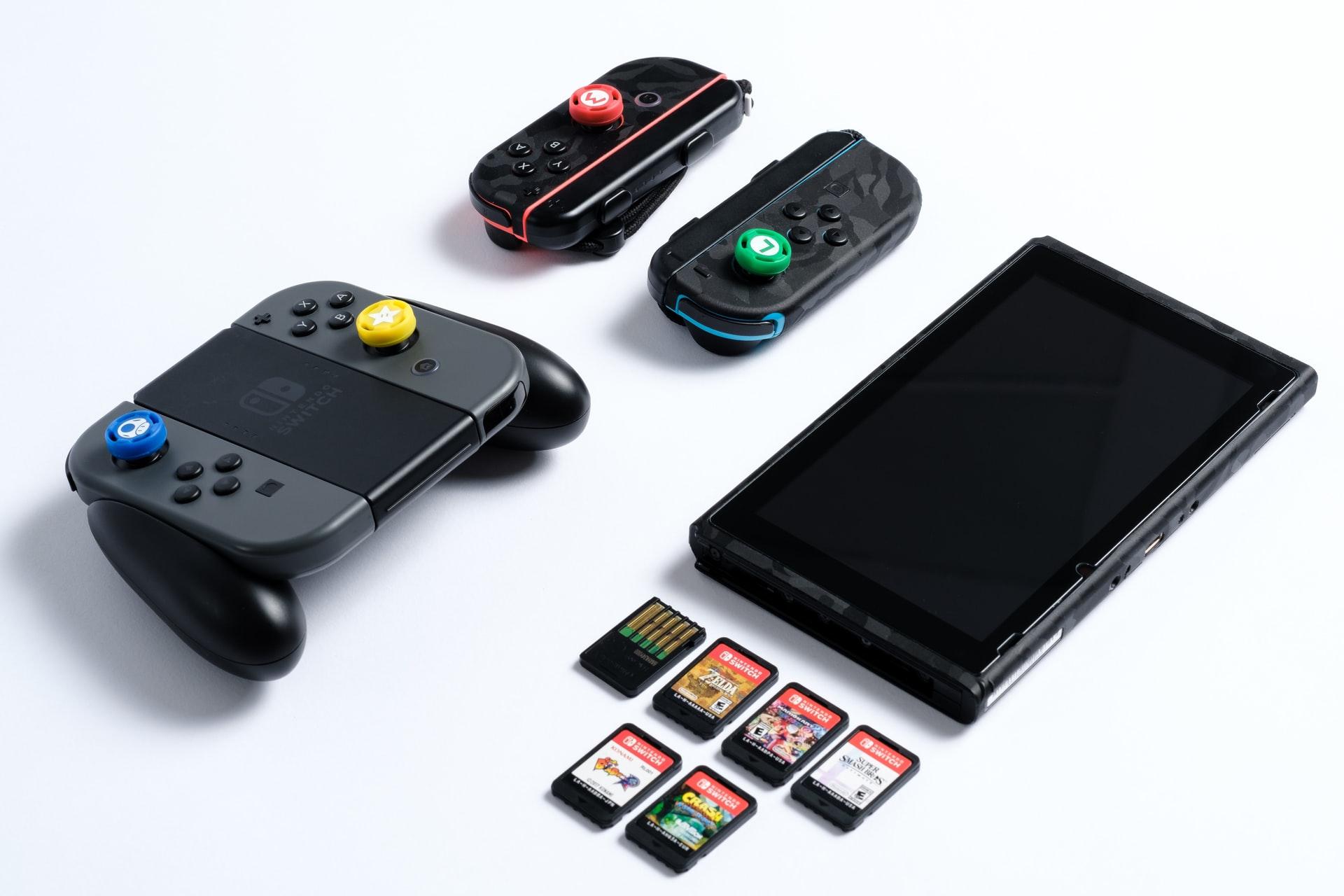 nintendo switch y juegos