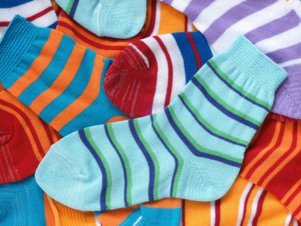 11071830 – many pairs of child socks