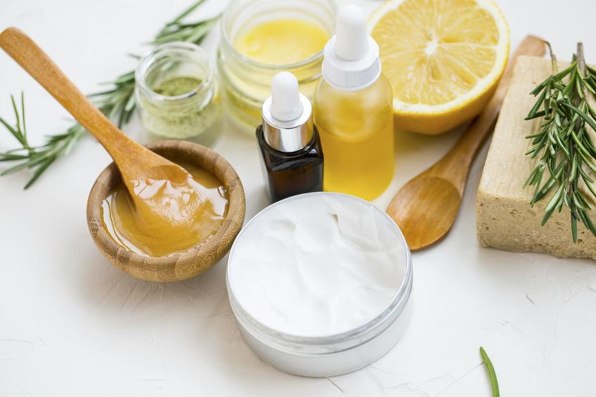 crema facial con serum y acido