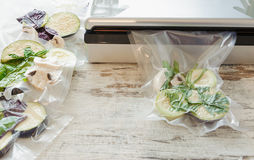 ensasadora de vegetales
