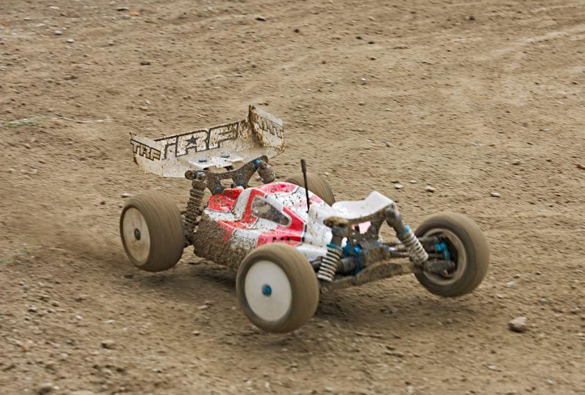 carro de carrera de juguete