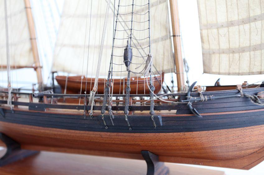 barco de madera ensamblable