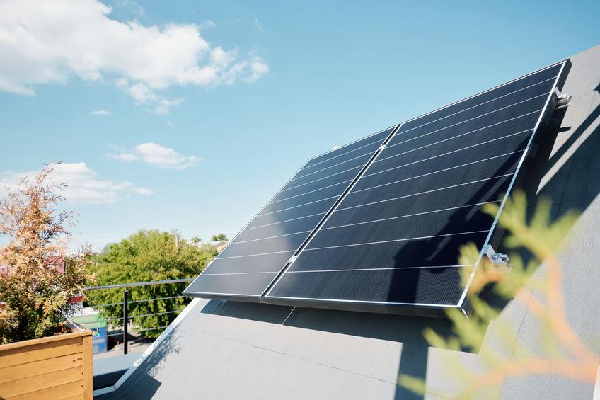 paneles solares de casa
