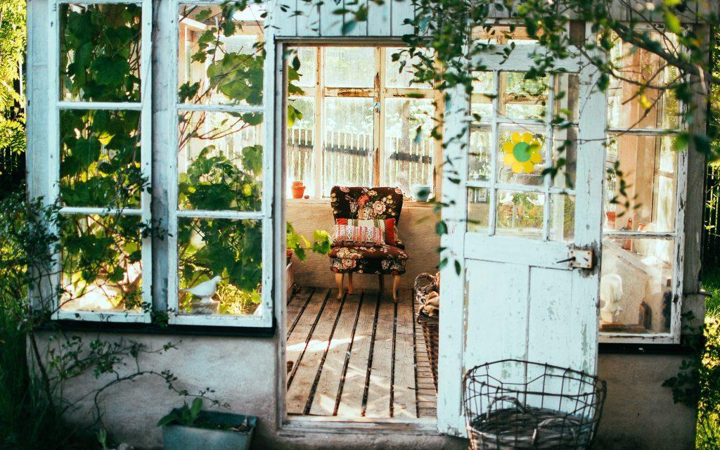 caseta de jardin