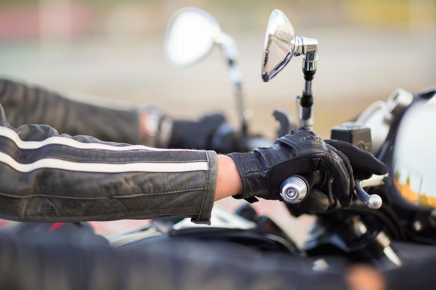 agarre de motocicleta