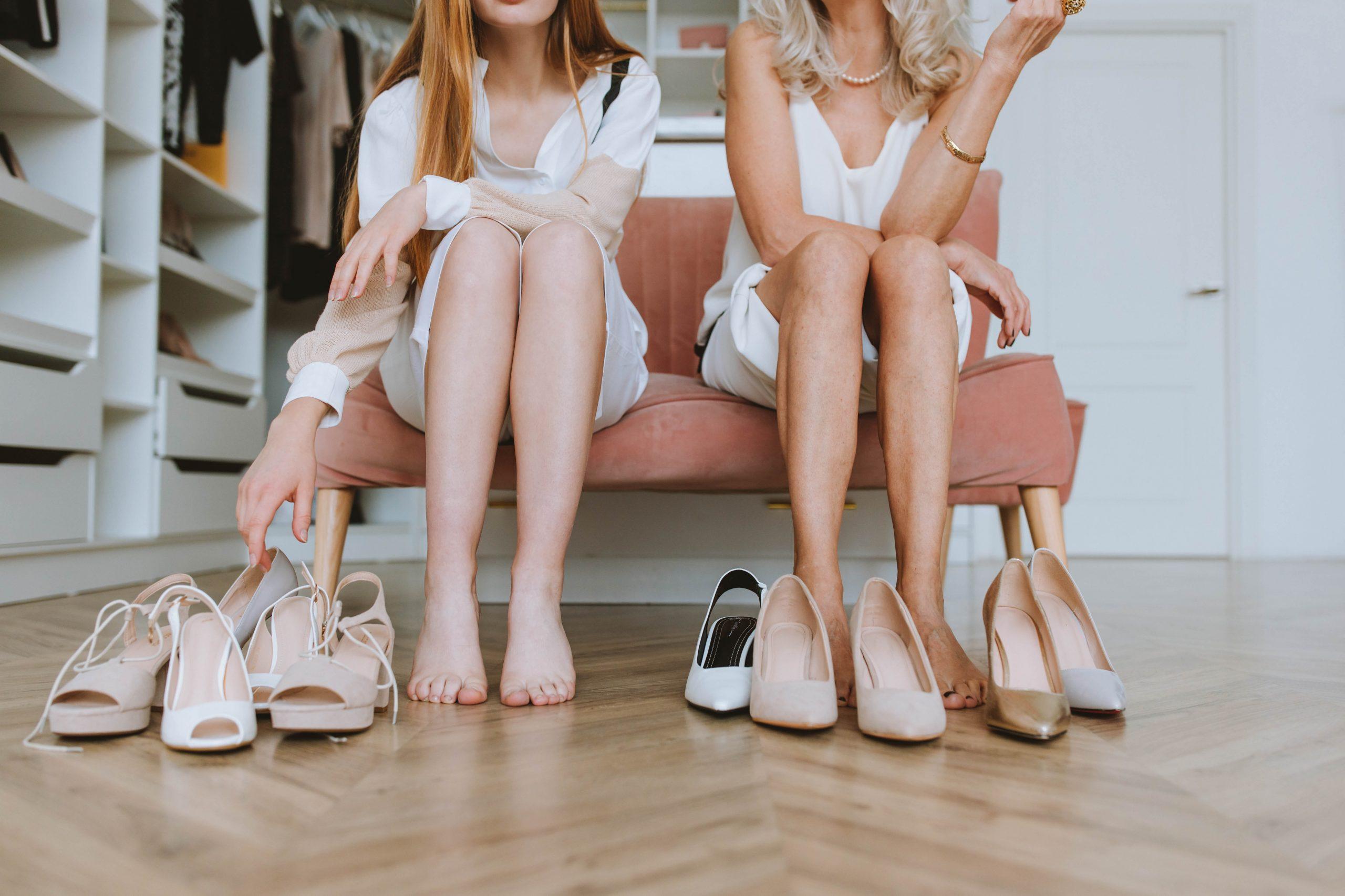 Chicas descalzas