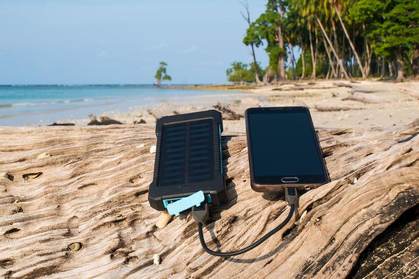 bateria en sol