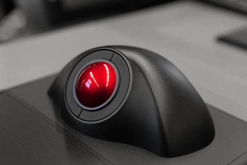 trackball roja