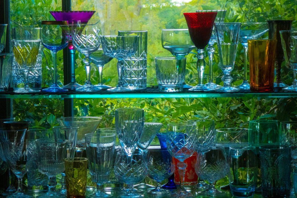 bebidas en estante