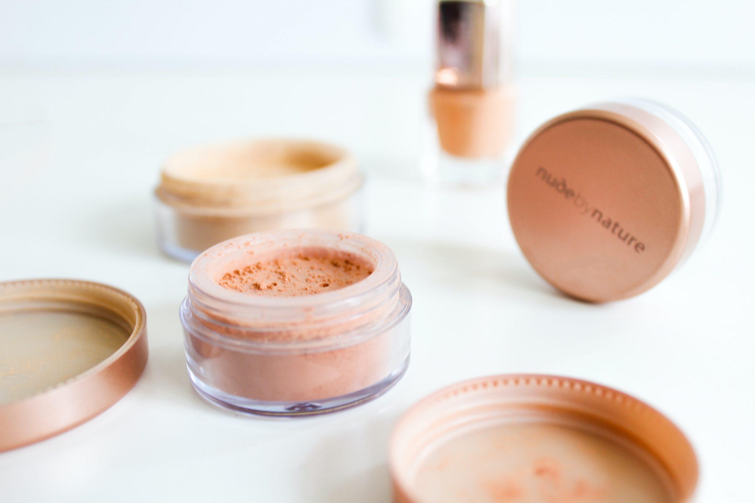 maquillaje en polvo