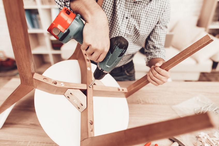 taladro de madera