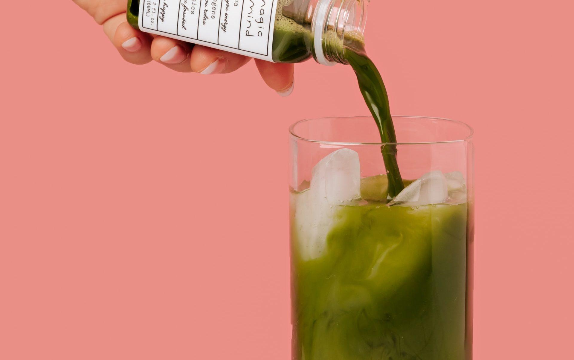 bebida verde