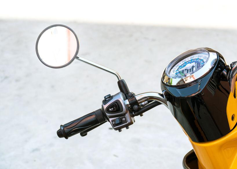 empuñadura de moto
