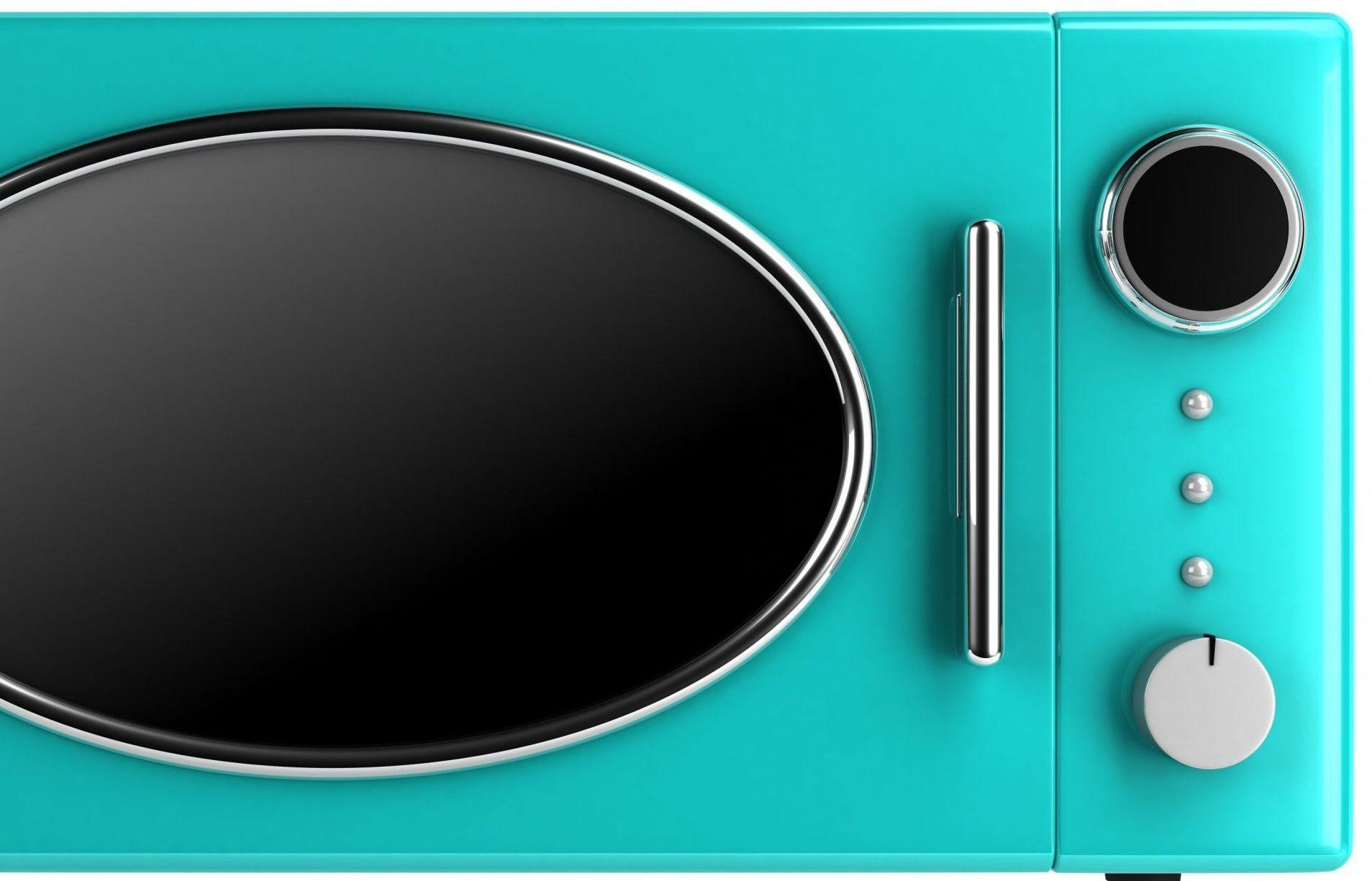 microondas verde