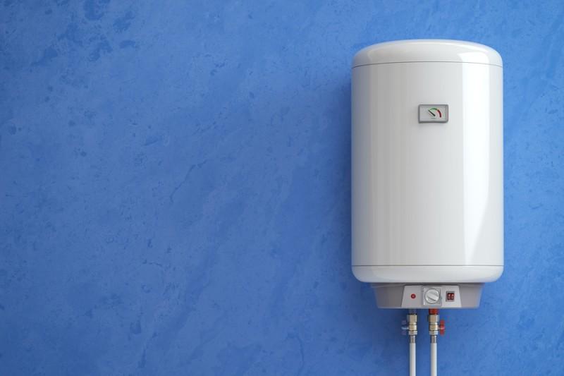 calentador Los calentadores de agua con tanque calientan el agua y mantienen su temperatura lista para su próximo uso. electrico