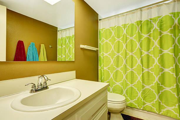 cortinas de verde