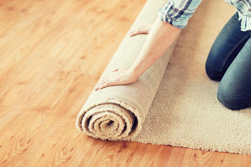 alfombra de cuarto