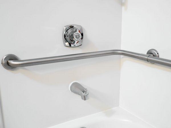 77741988 – disabled access bathtub hand rail grab bars in a hotel