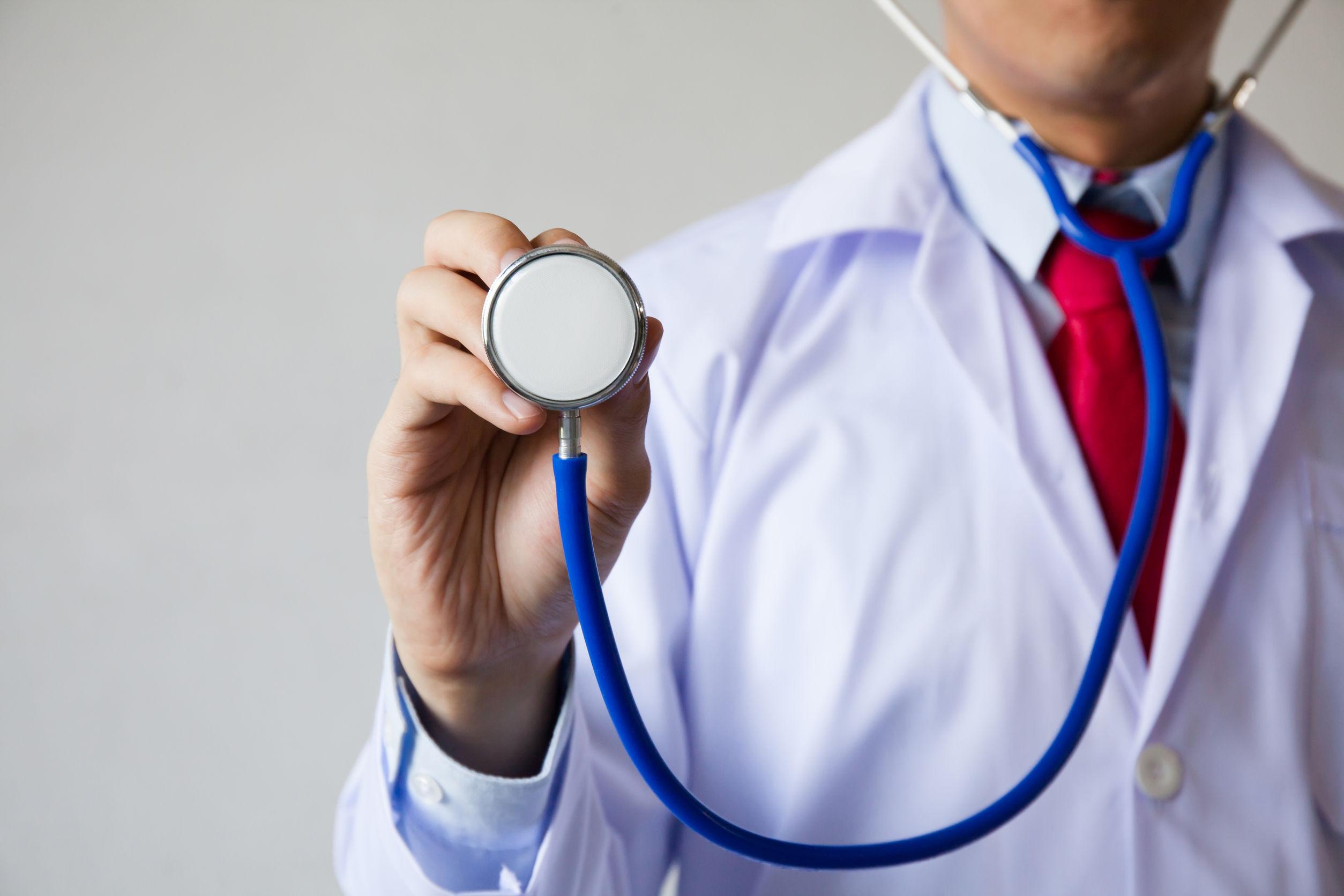 Doctor con Fonendoscopio
