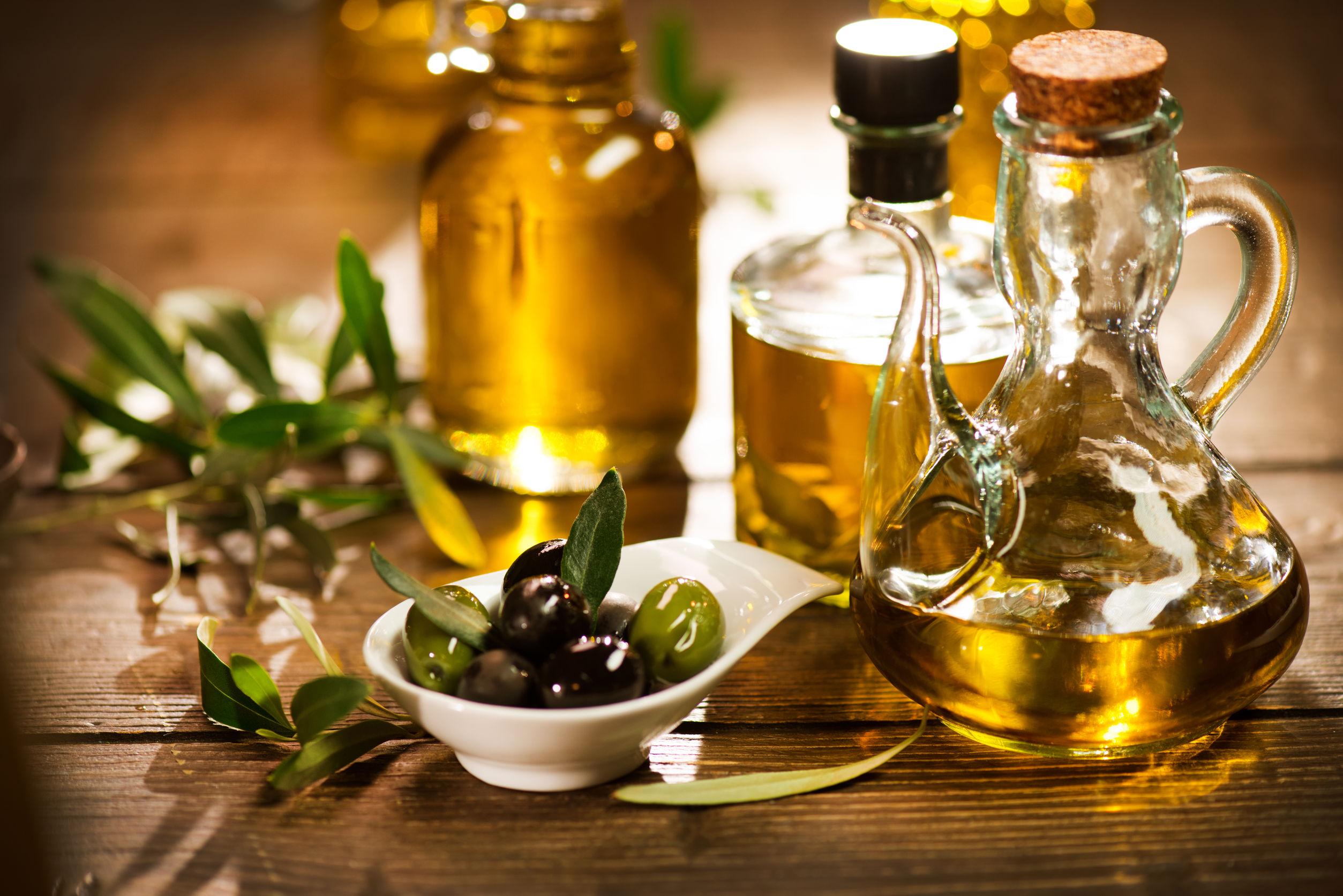Acaeite de oliva en varias presentaciones
