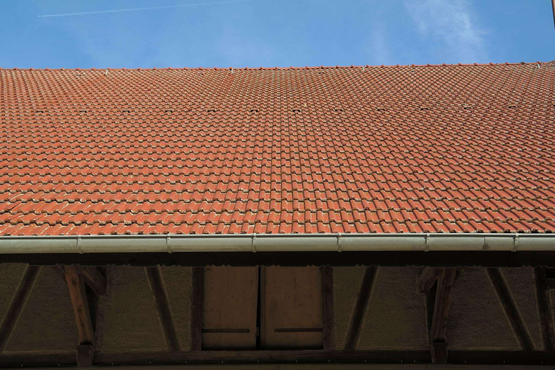Canaleta en tejado