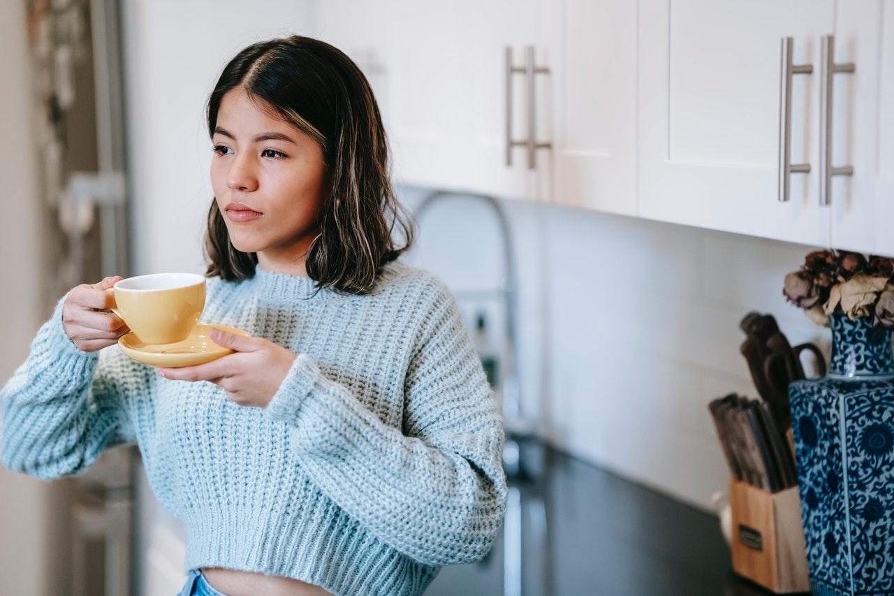 Beber café brinda relajación