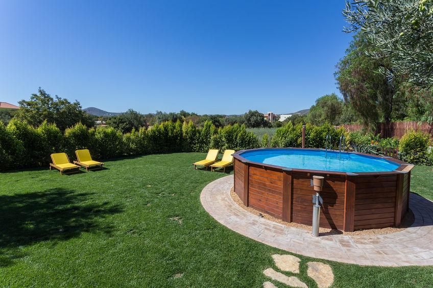 piscina desmontable de jardin