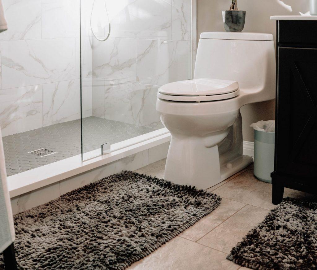 alfombra para baño