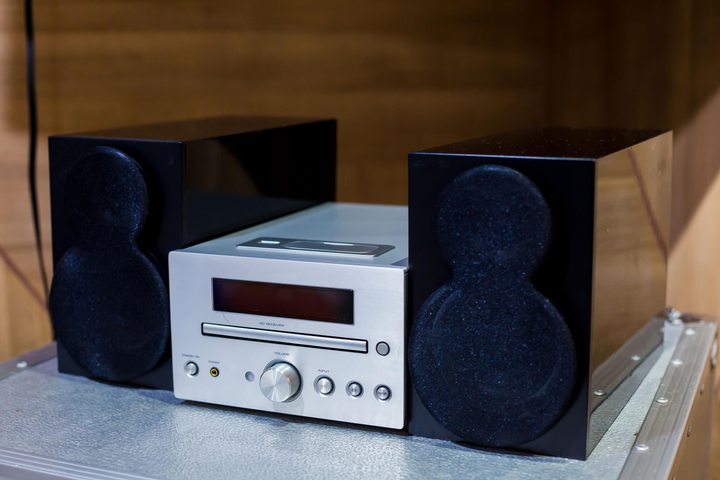 altavoces de equipo de sonido