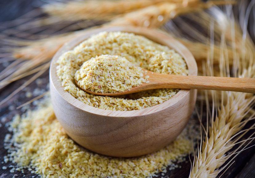 Germen de trigo en cereal