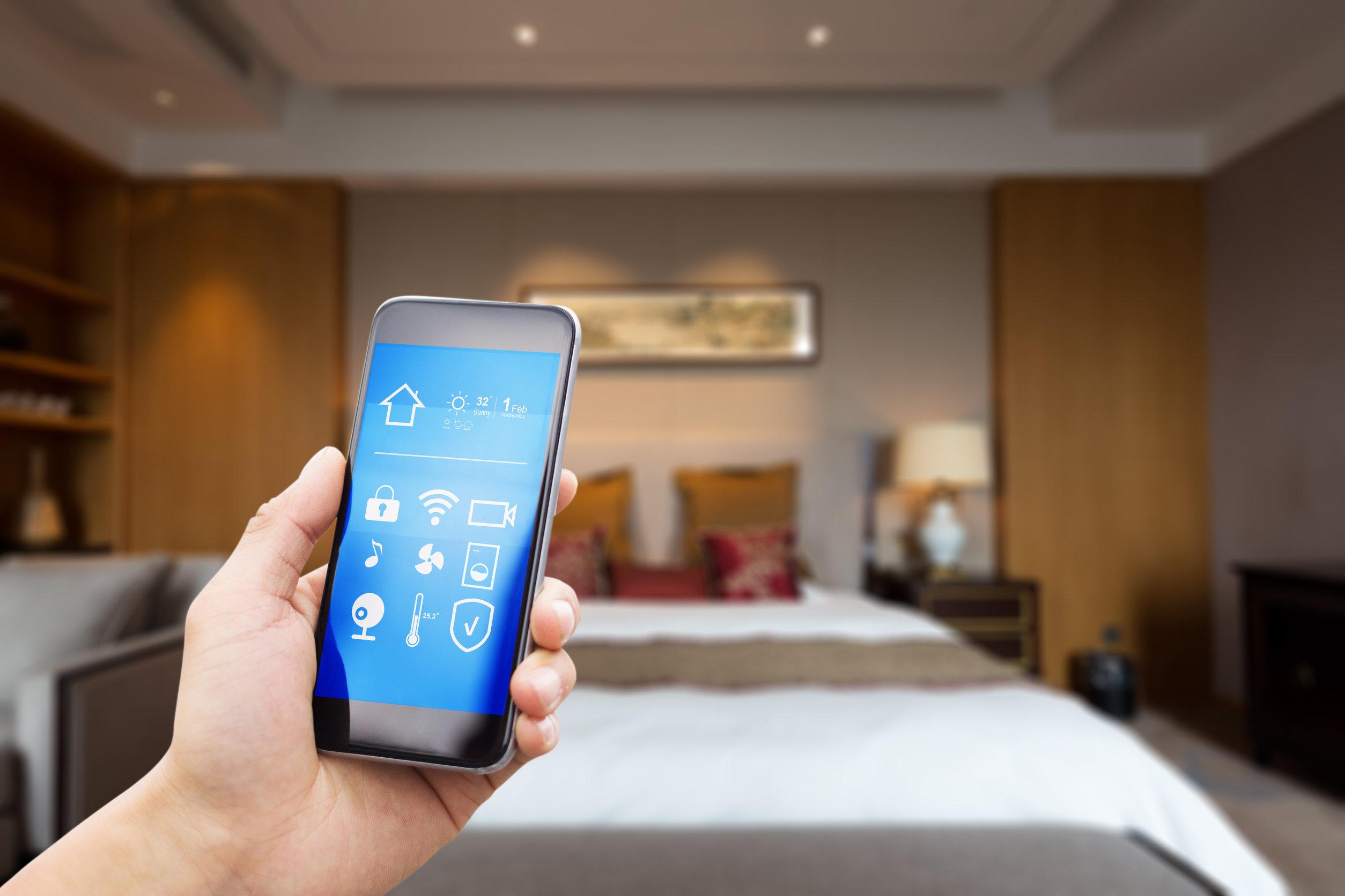 Teléfono móvil con aplicaciones