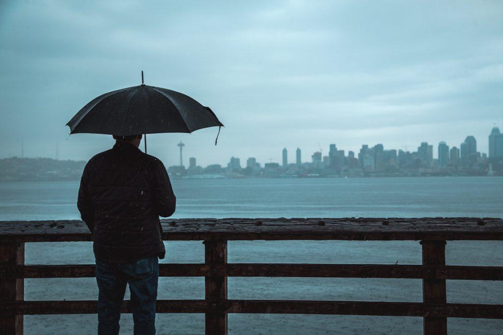 Paragua para la lluvia