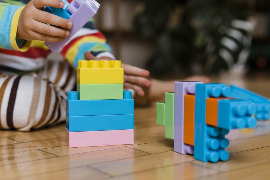 Juguete tipo Lego similar a los puzzles 3D