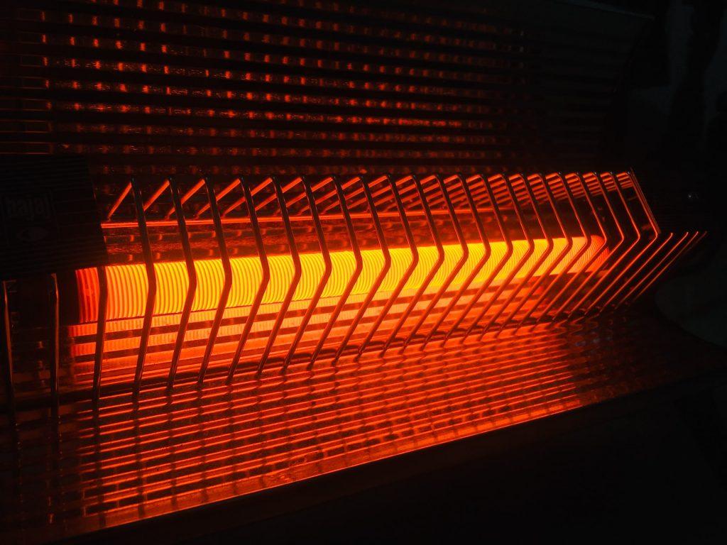 calefactor de la casa