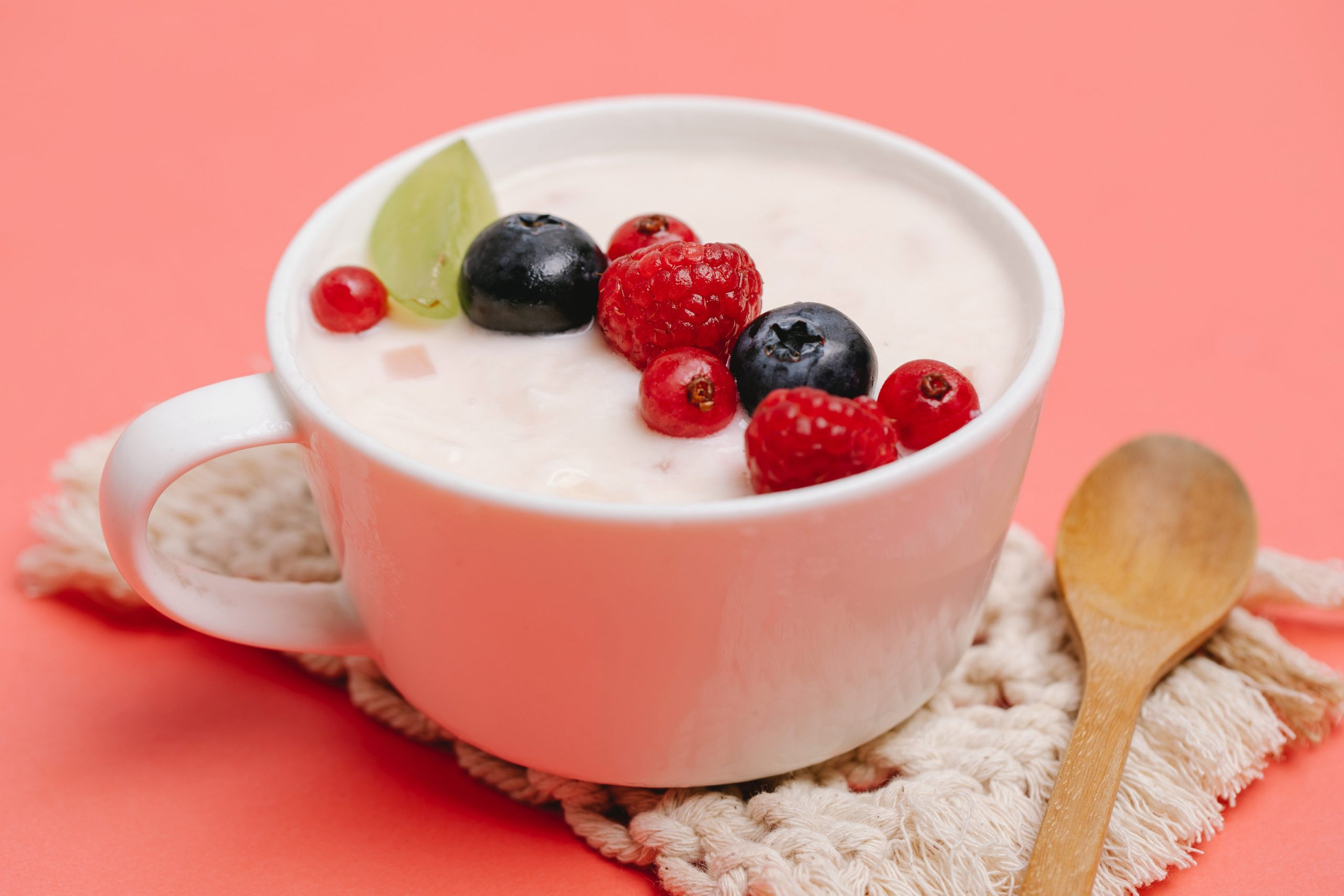 yogurt con frutos