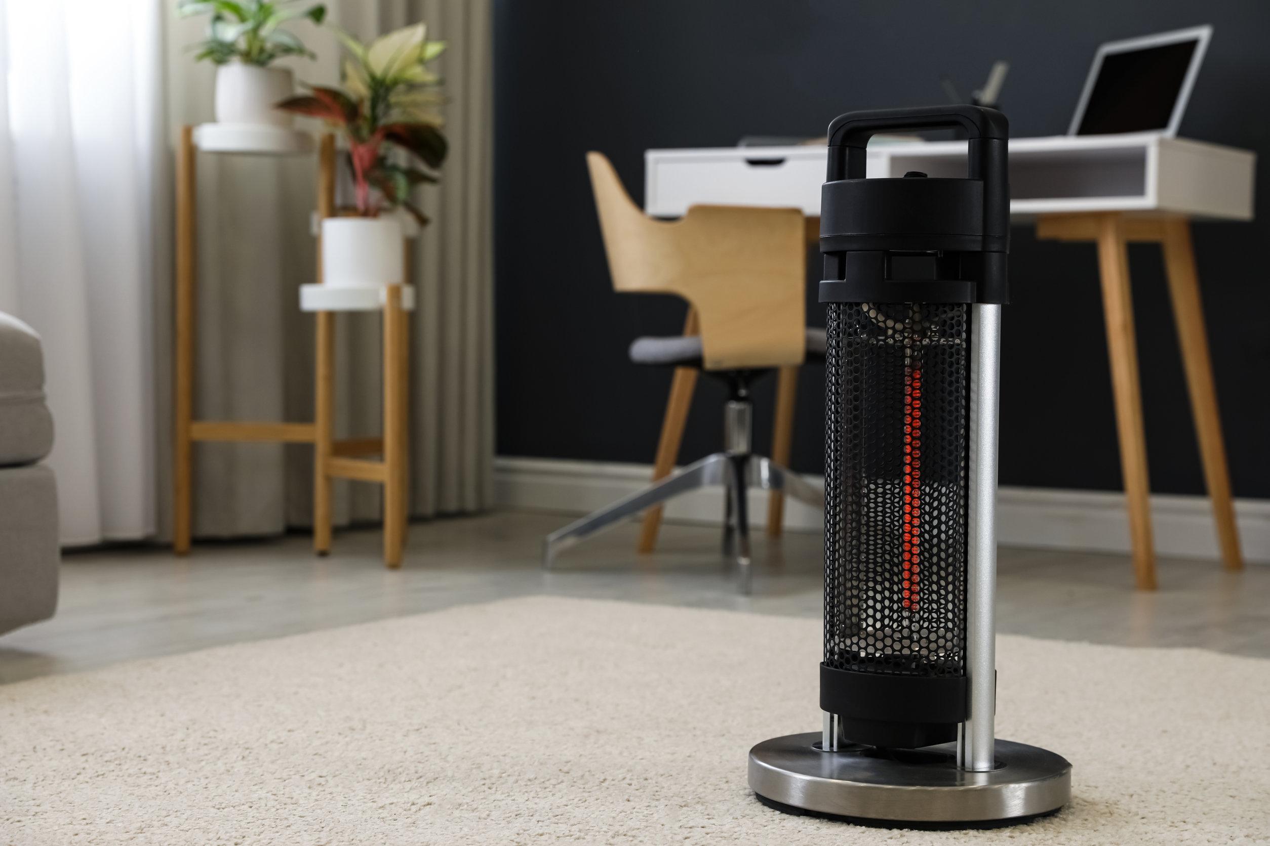 Calefactor Infrarrojo compacto para estancias en interior.