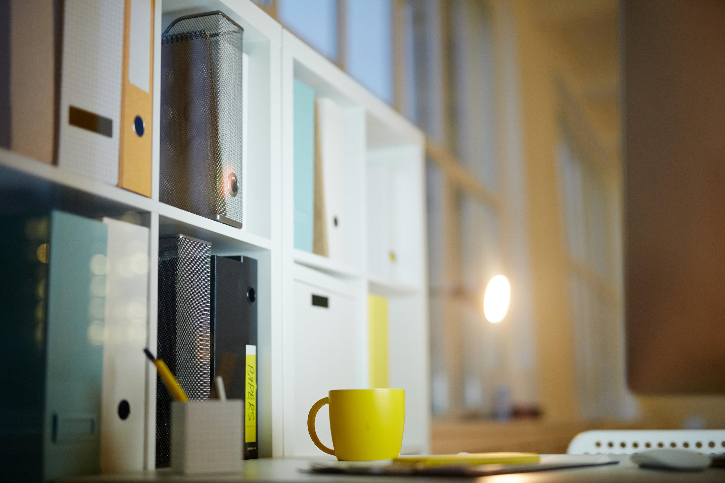 escritorio de estudiante
