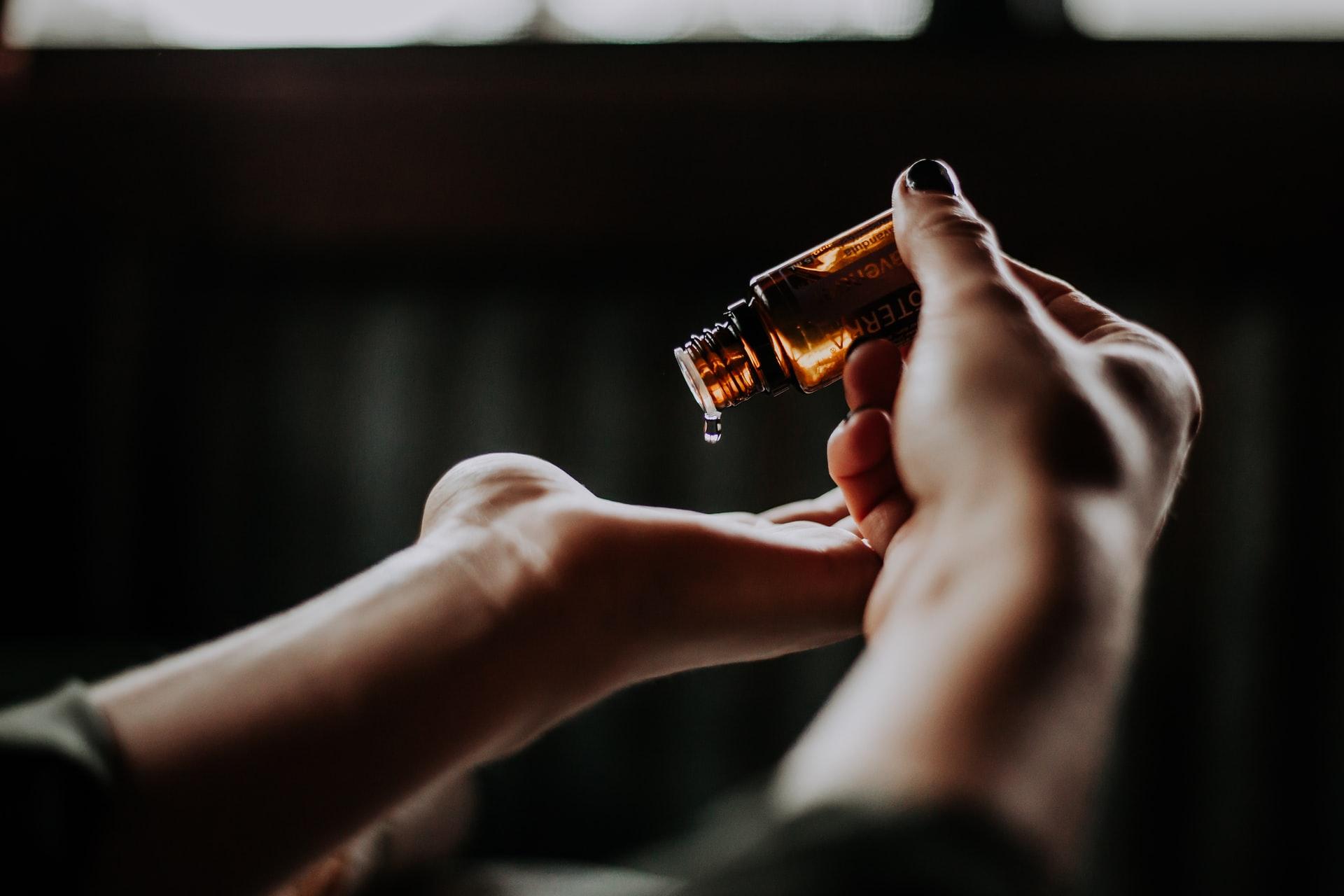 aceite limpiador de piel