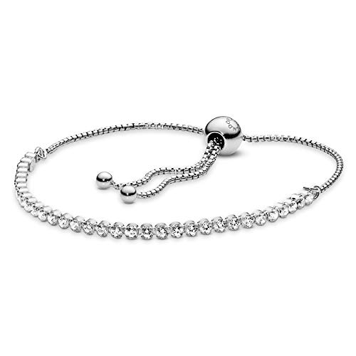 Pandora Pulsera cadena Mujer plata - 590524CZ-1