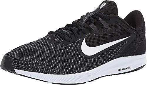 Nike Downshifter 9, Zapatillas de Correr Hombre, Negro (Black/White/Anthracite/Cool Grey 002), 42.5 EU