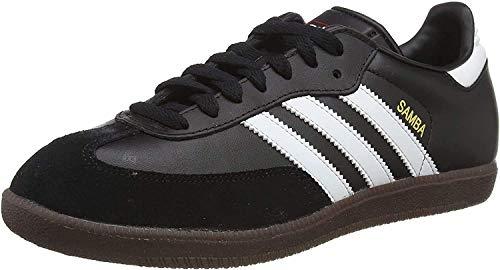 Adidas Samba, Zapatillas de Fútbol Hombre, Negro Black Running White, 42 EU