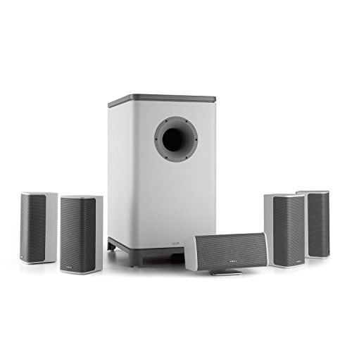 Numan Ambience 5.1 Surround Sound System - Home Cinema, 120W RMS, 4 Ohm, Subwoofer Activo Mono, 25,4cm (10