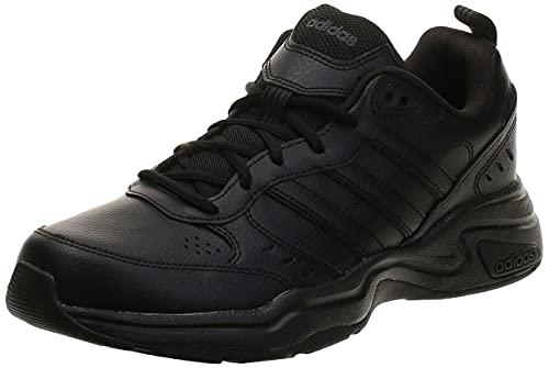 Adidas Strutter, Zapatillas Deportivas Fitness y Ejercicio Hombre, Negro Core Black Core Black Grey, 42 EU