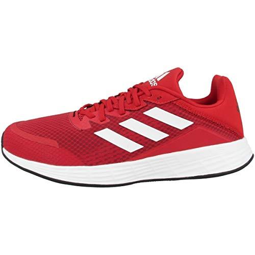 Adidas Duramo SL, Zapatillas Hombre, Red/White, 44 EU