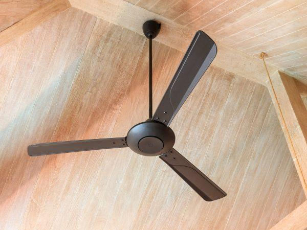 Electric vintage ceiling fan